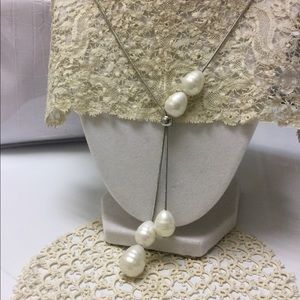 NEW! Adjustable Pearl Necklace